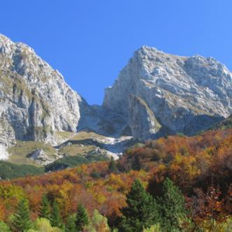 La grande Baba visto dalla Val Resia